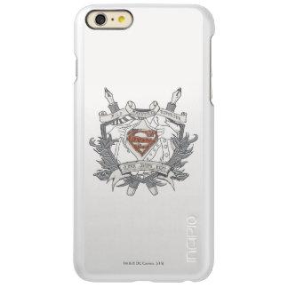 Superman Stylized | Mild Mannered Reporter Logo Incipio Feather® Shine iPhone 6 Plus Case