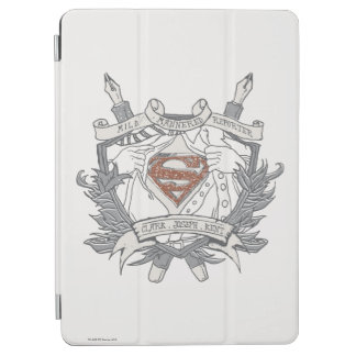 Superman Stylized | Mild Mannered Reporter Logo iPad Air Cover