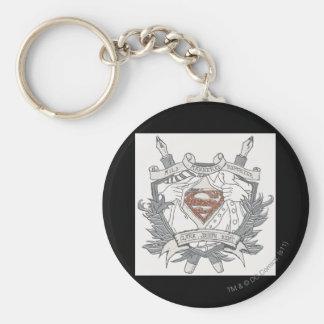 Superman Stylized | Mild Mannered Reporter Logo Keychain