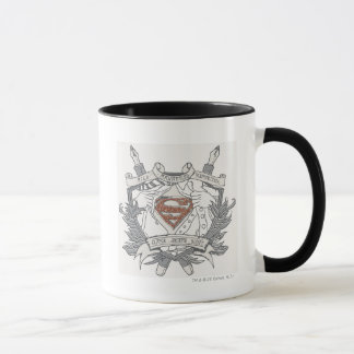 Superman Stylized | Mild Mannered Reporter Logo Mug