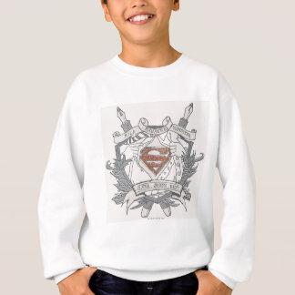 Superman Stylized | Mild Mannered Reporter Logo Sweatshirt