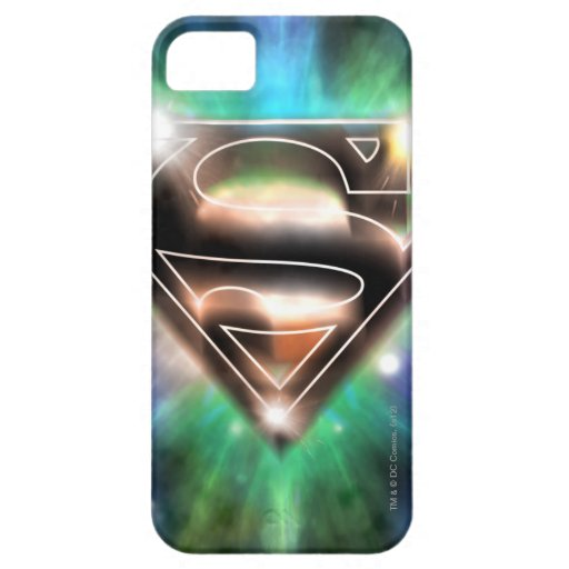 Superman Stylized | Shiny Burst Logo iPhone SE/5/5s Case