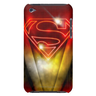 Superman Stylized | Shiny Red Outline Logo iPod Touch Cover