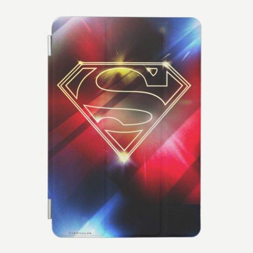 Superman Stylized | Shiny Yellow Outline Logo iPad Mini Cover