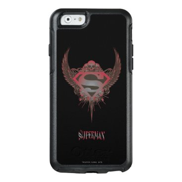 Superman Stylized | Skull and Wings Logo OtterBox iPhone 6/6s Case