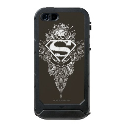 Superman Stylized | Star and Skull Logo Waterproof Case For iPhone SE/5/5s