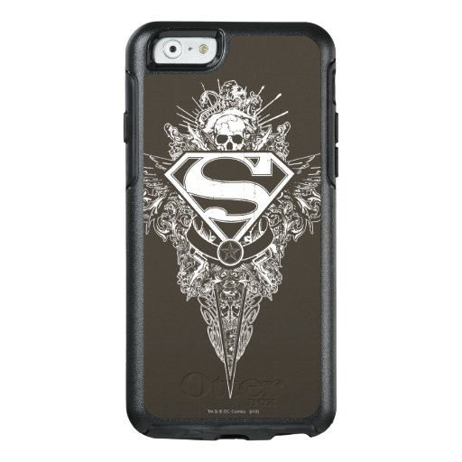 Superman Stylized | Star and Skull Logo OtterBox iPhone 6/6s Case