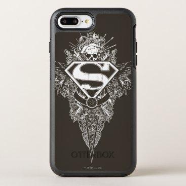 Superman Stylized | Star and Skull Logo OtterBox Symmetry iPhone 8 Plus/7 Plus Case