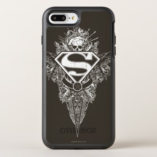 Superman Stylized | Star and Skull Logo OtterBox Symmetry iPhone 8 Plus/7 Plus Case