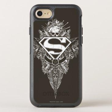 Superman Stylized | Star and Skull Logo OtterBox Symmetry iPhone 8/7 Case