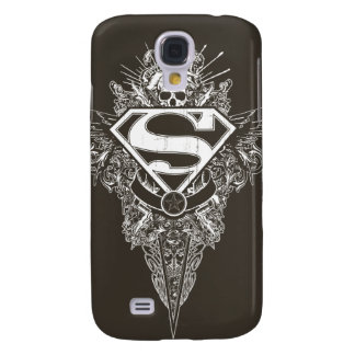 Superman Stylized | Star and Skull Logo Samsung Galaxy S4 Cover