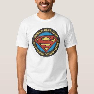 Superman Stylized | Strength Vision Flight Logo T-Shirt