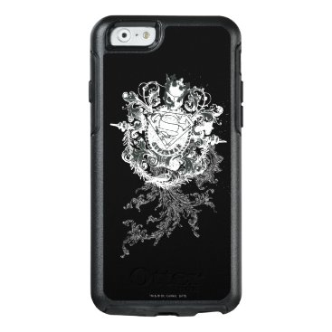 Superman Stylized   Tan Heart Logo OtterBox iPhone 6/6s Case