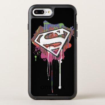 Superman Stylized | Twisted Innocence Logo 2 OtterBox Symmetry iPhone 8 Plus/7 Plus Case