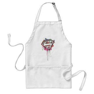 Superman Stylized | Twisted Innocence Logo Adult Apron