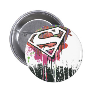 Superman Stylized | Twisted Innocence Logo Button