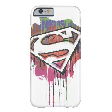 Superman Stylized   Twisted Innocence Logo Barely There iPhone 6 Case