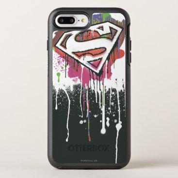 Superman Stylized | Twisted Innocence Logo OtterBox Symmetry iPhone 8 Plus/7 Plus Case