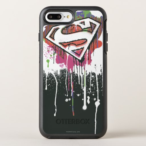Superman Stylized | Twisted Innocence Logo OtterBox Symmetry iPhone 8 Plus/7 Plus Case