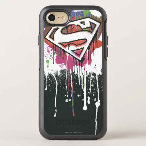 Superman Stylized | Twisted Innocence Logo OtterBox Symmetry iPhone SE/8/7 Case