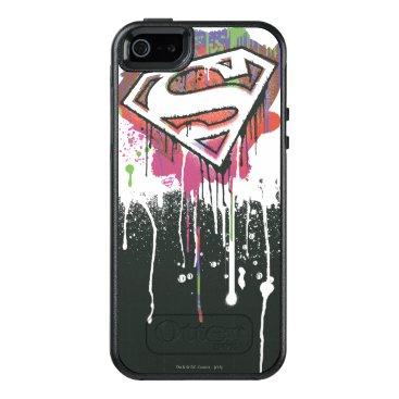 Superman Stylized | Twisted Innocence Logo OtterBox iPhone 5/5s/SE Case