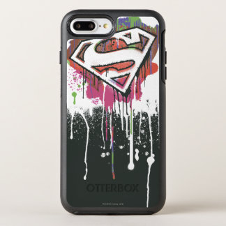 Superman Stylized | Twisted Innocence Logo OtterBox Symmetry iPhone 7 Plus Case