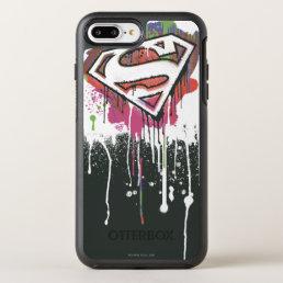Superman Stylized   Twisted Innocence Logo OtterBox Symmetry iPhone 8 Plus/7 Plus Case