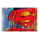 Superman Stylized   Urban Spraypaint Logo Poster