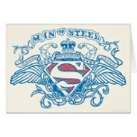 Superman Stylized | Wings and Arms Logo Card