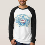 Superman Stylized | Wings and Arms Logo Tee Shirt