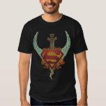 Superman Stylized | Wings Logo Tee Shirt