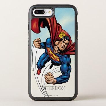 Superman swift through the air OtterBox symmetry iPhone 8 plus/7 plus case