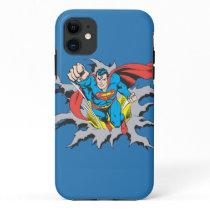 Superman Tears Thru iPhone 11 Case