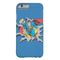 Superman Tears Thru Barely There iPhone 6 Case