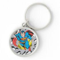 Superman Tears Thru Keychain