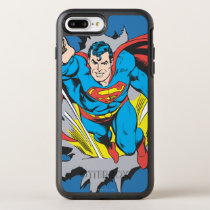 Superman Tears Thru OtterBox Symmetry iPhone 8 Plus/7 Plus Case