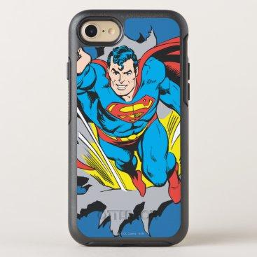 Superman Tears Thru OtterBox Symmetry iPhone 8/7 Case