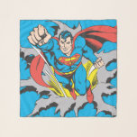 Superman Tears Thru Scarf