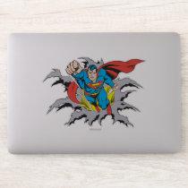 Superman Tears Thru Sticker
