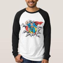 Superman Tears Thru T-Shirt