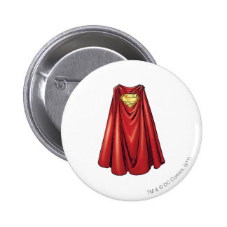 Superman - The Cape Button
