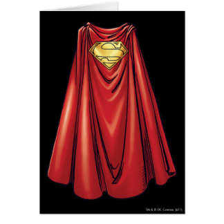 Superman - The Cape Greeting Card