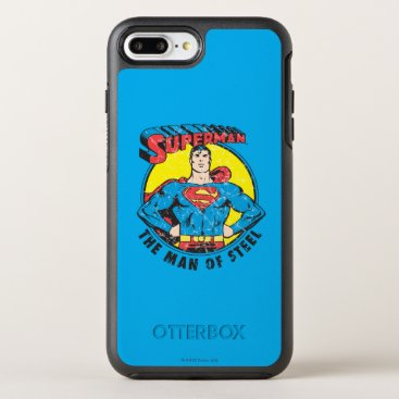 Superman The Man of Steel OtterBox Symmetry iPhone 8 Plus/7 Plus Case