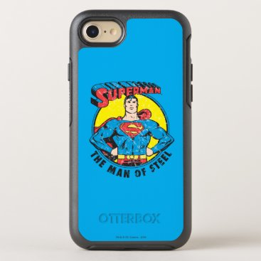 Superman The Man of Steel OtterBox Symmetry iPhone 8/7 Case
