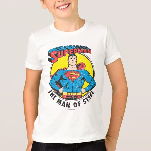 Superman the man of steel t shirt zazzle for Man of steel t shirt online