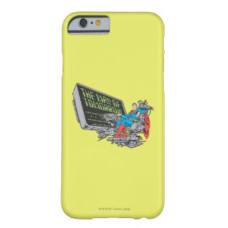 Superman - The Man Of Tomorrow Barely There iPhone 6 Case