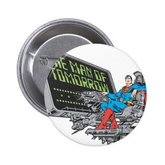 Superman - The Man Of Tomorrow Pinback Button