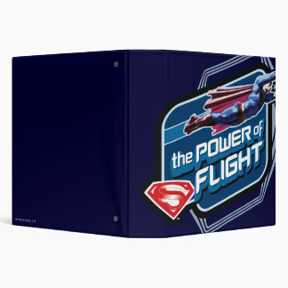 Superman The Power of Flight Vinyl Binders