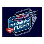 Superman The Power of Flight Postcard