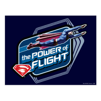 Superman The Power of Flight Postcards
